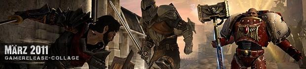 Videospielespaß im März 2011 - die Game-Releases des Monats