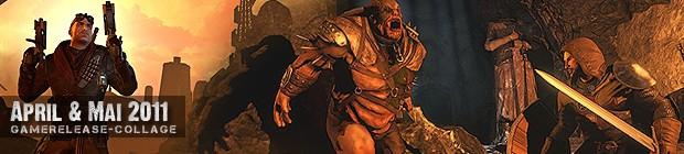 Videospielespaß im Mai 2011 - die Game-Releases des Monats