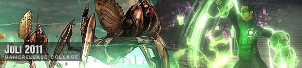 Videospielespaß im Juli 2011 - die Game-Releases des Monats