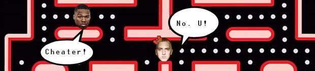 50Cent: Eminem cheatet bei PacMan!