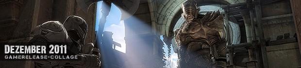 Videospielespaß im Dezember 2011 - die Game-Releases des Monats