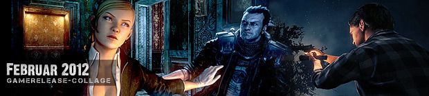 Videospielespaß im Februar 2012 - die Game-Releases des Monats