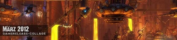 Videospielespaß im März 2012 - die Game-Releases des Monats