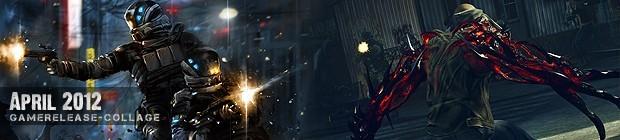 Videospielespaß im April 2012 - die Game-Releases des Monats