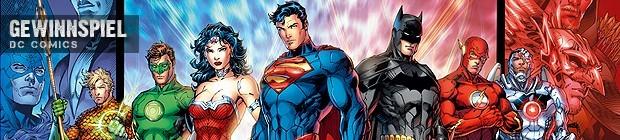 Gewinnspiel! DC Comics Relaunch: Superhelden in neuem Gewand