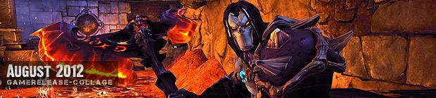 Videospielespaß im August 2012 - die Game-Releases des Monats