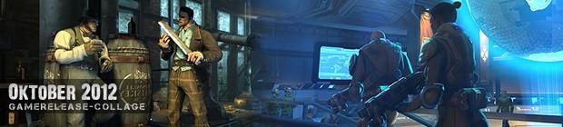 Videospielespaß im Oktober 2012 - die Game-Releases des Monats