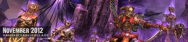 Videospielespaß im November 2012 - die Game-Releases des Monats