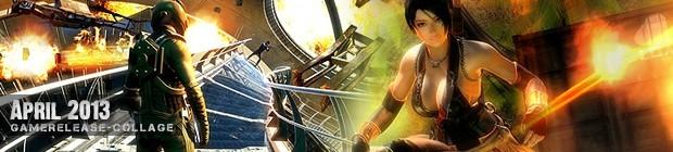 Videospielespaß im April 2013 - die Game-Releases des Monats