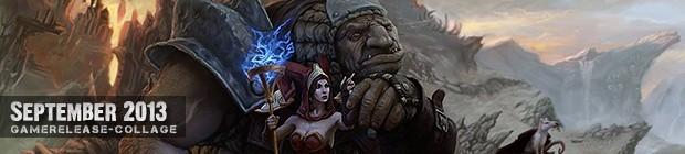 Videospielespaß im September 2013 - die Game-Releases des Monats