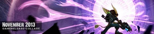 Videospielespaß im November 2013 - die Game-Releases des Monats