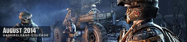 Videospielespaß im August 2014 - die Game-Releases des Monats