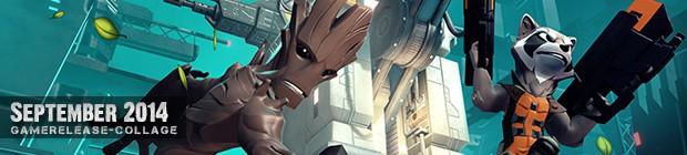 Videospielespaß im September 2014 - die Game-Releases des Monats
