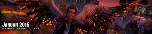 Videospielespaß im Januar 2015 - die Game-Releases des Monats