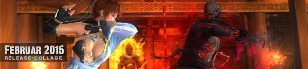 Videospielespaß im Februar 2015 - die Game-Releases des Monats