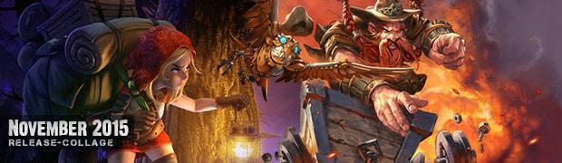 Videospielespaß im November 2015 - die Game-Releases des Monats