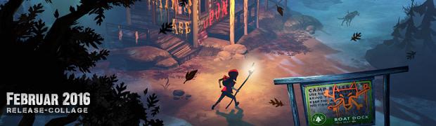 Videospielespaß im Februar 2016 - die Game-Releases des Monats
