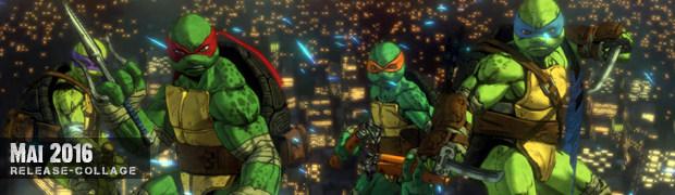 Videospielespaß im Mai 2016 - die Game-Releases des Monats