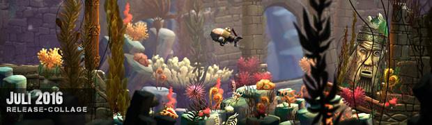 Videospielespaß im Juli 2016 - die Game-Releases des Monats