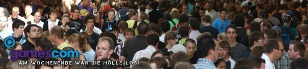 Der gamescom-Samstag - Die Hölle auf Erden!