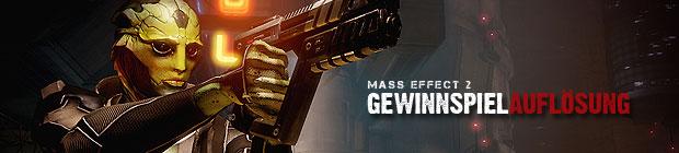 Mass Effect 2 - Auflösung unseres Gewinnspiels - hier sind die Gewinner