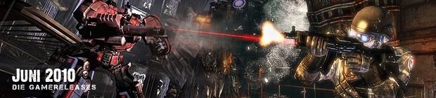 Videospielespaß im Juni 2010 - die Game-Releases des Monats
