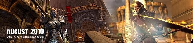 Videospielespaß im August 2010 - die Game-Releases des Monats