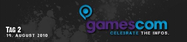 Donnerstag 19.08. - unser Tag #2 auf der gamescom 2010