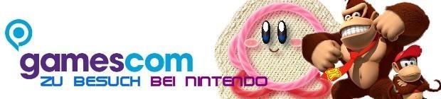 gamescom 2010: zu Besuch beim Nintendo-Stand