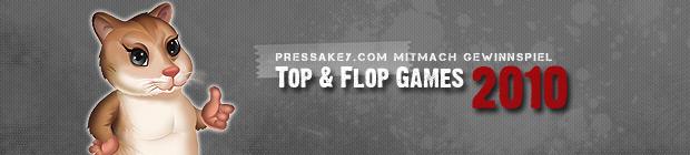 Eure Top- & Flop-Games 2010. Unser großes Mitmach-Gewinnspiel