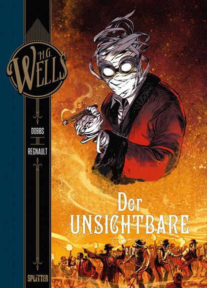 H.G. Wells - Der Unsichtbare Bd. 2