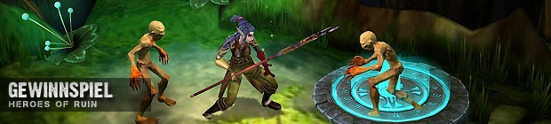 Heroes of Ruin - Gewinnspiel