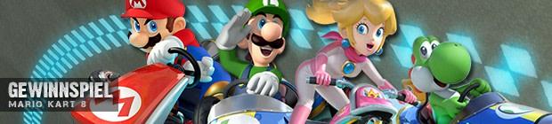 Mario Kart 8 - Gewinnspiel
