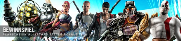 PlayStation All-Stars Battle Royale - Gewinnspiel
