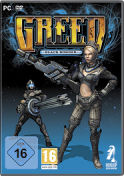 Greed - Black Border - Boxart