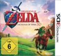 The Legend of Zelda: Ocarina of Time 3D - Boxart