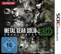 Metal Gear Solid 3D: Snake Eater - Boxart