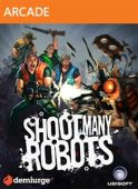 Shoot Many Robots - Boxart