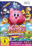 Kirby's Adventure Wii - Boxart