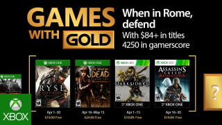 Microsoft Xbox Live - 'Games with Gold' April 2017 Trailer