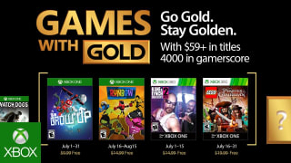 Microsoft Xbox Live - 'Games with Gold' July 2017 Trailer