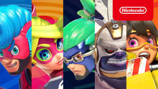 Arms - Character Introduction Gameplay Trailer (JP)