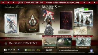 Assassin's Creed 3 - Freedom Edition Unboxing Trailer