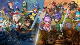 Dragon Quest Heroes I-II - Nintendo Switch Announcement Trailer (JP)