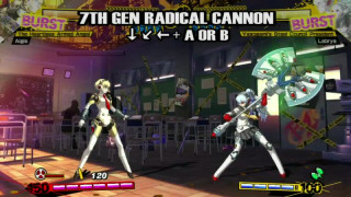 Persona 4 Arena - Aigis Character Moves Trailer