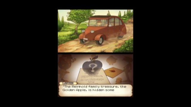 Professor Layton und das geheimnisvolle Dorf - Gametrailer