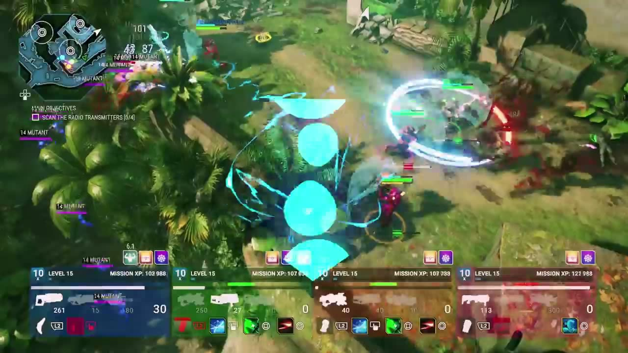 Alienation couch co op trailer for Couch coop ps4