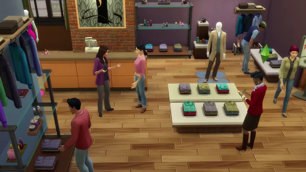 Die Sims 4: An die Arbeit Download   Freeware.de