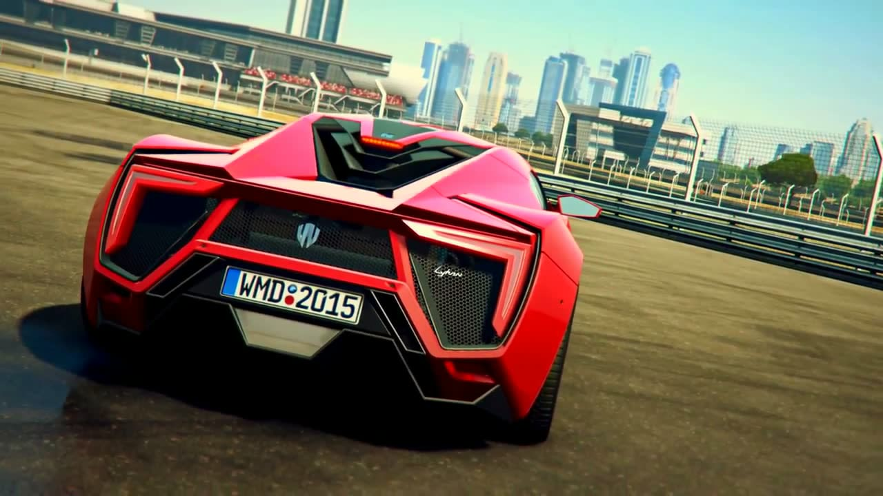 project cars lykan hypersport trailer. Black Bedroom Furniture Sets. Home Design Ideas