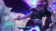 League of Legends - 'Taric, der Schild von Valoran' Spotlight Gameplay Trailer
